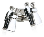 Bride & Groom Cufflinks