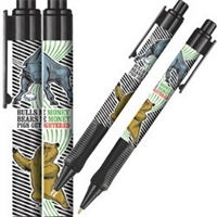 Bull and Bear Ball Point Pen