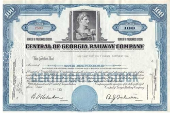Central Of Georgia Railway Company