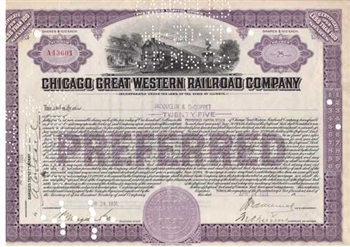 Chicago Great Western Railroad Company