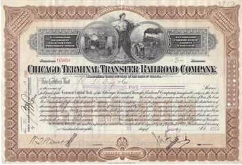 Chicago Terminal Transfer Railroad Company - 1906