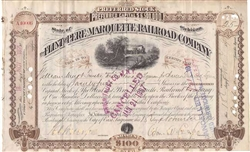The Flint and Pere Marquette Railroad Company - 1895