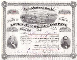 Louisville Bridge Company - 1870s