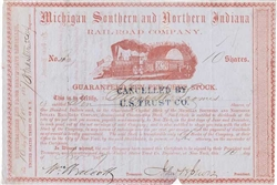Michigan Southern and Northern Indiana Rail-Road Co - 1857
