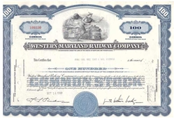 Western Maryland Railway Co - Merrill Lynch