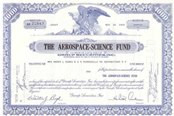 The Aerospace-Science Fund