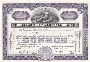Ainsworth Manufacturing Corporation - Purple