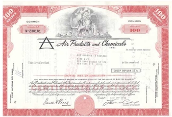 Air Products and Chemicals Inc - Red