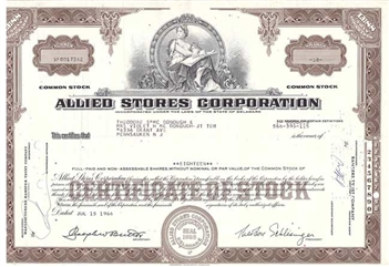Allied Stores Corporation - Brown