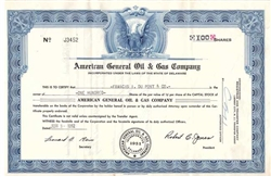 American General Oil & Gas Company - 1950s