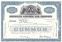 American Natural Gas Company - Blue