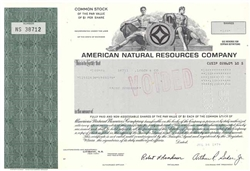American Natural Resources Company - 1979