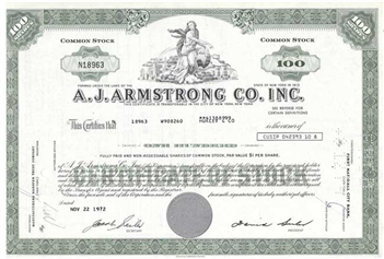 A.J. Armstrong Co. Inc - Green