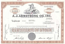 A.J. Armstrong Co. Inc - Red