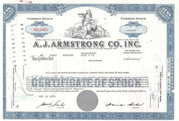 A.J. Armstrong Co. Inc - Blue