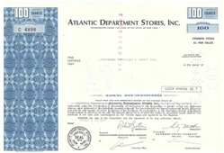 Atlantic Department Stores, Inc.