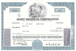 Avery Products Corporation - Blue