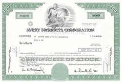 Avery Products Corporation - Green