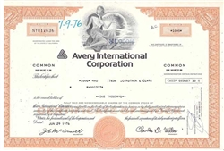 Avery International Corporation