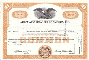 Automatic Retailers of America, Inc.