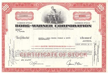 The Borg-Warner Corporation - Red