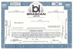 Brascan Limited - 100 Shares