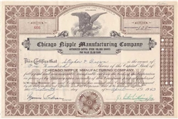 Chicago Nipple Manufacturing Co