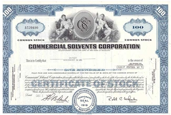 Commercial Solvents Corp - Blue