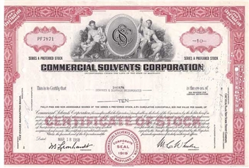 Commercial Solvents Corp - Red