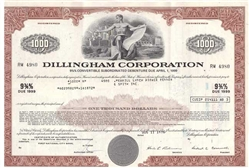 Dillingham Corp Bond - Red