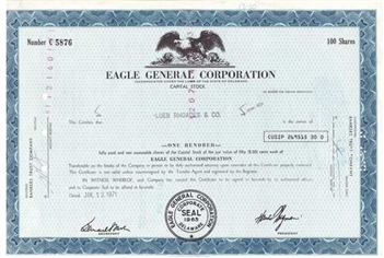 Eagle General Corp - Blue