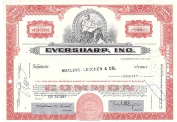 Eversharp, Inc. - Red