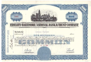 Fidelity-Baltimore National Bank & Trust Co