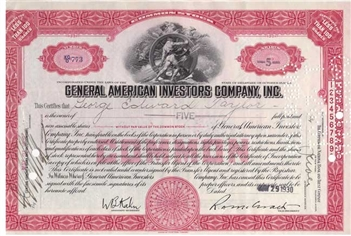 General American Investors Company, Inc. - Red