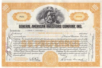 General American Investors Company, Inc. - Yellow
