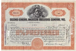 Second General American Investors CO - 1929