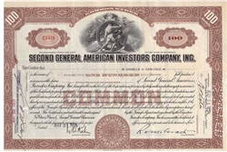 Second General American Investors CO - Brown