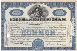 Second General American Investors CO - Blue