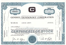 Genisco Technology Corporation - Blue