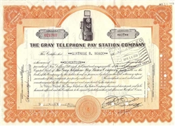 The Gray Telephone Pay Station Company - 1930s