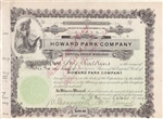 Howard Park Company - Early 1900s