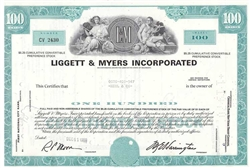 Liggett & Myers Inc. (Tobacco) - Aqua
