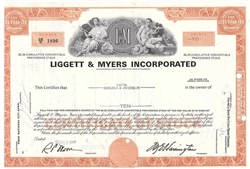Liggett & Myers Inc. (Tobacco) - Orange