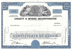 Liggett & Myers Inc. (Tobacco) - Blue