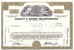 Liggett & Myers Inc. (Tobacco) - Olive