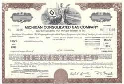 Michigan Consolidated Gas Co Bond
