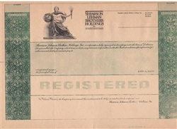 Shearson Lehman Brothers Specimen Proof Request