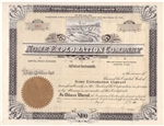 Nome Exploration Company Stock Certificate - 190_