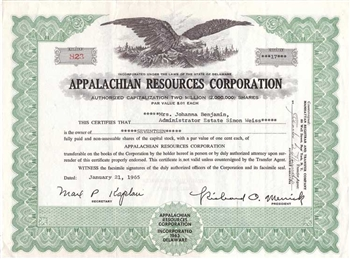 Appalachian Resources Corporation