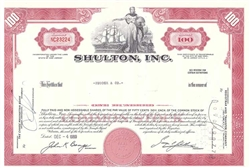 Shulton, Inc. - red